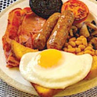Breakfast Eggs Ham